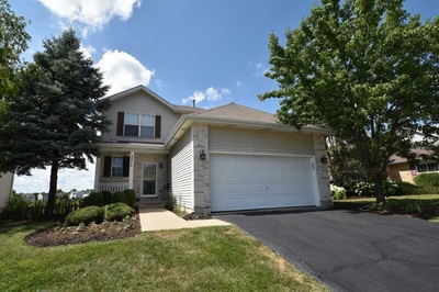This four-bedroom home, 2214 Lotus Drive in Round Lake Heights, has a property tax bill of $5,983.
