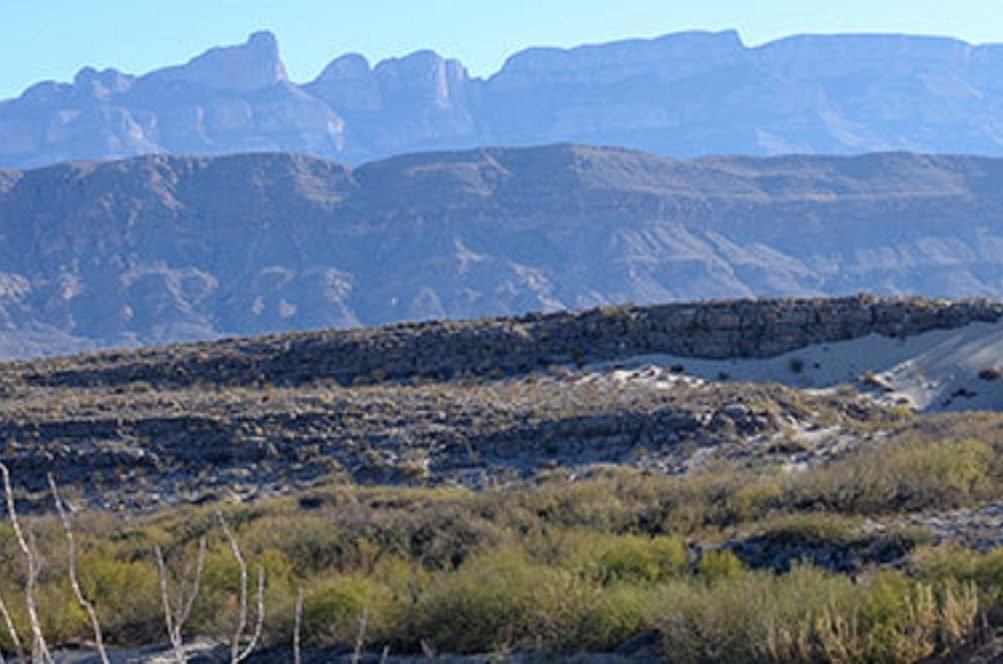 The El Carmen spans from Texas into Mexico with conservation agreements on both sides of the border.