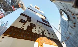 A view of Plant Vogtle's CA01 module at Unit 3.