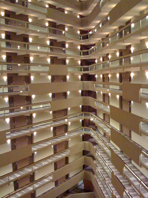 Hotel rooms are starting to fill up in Austin.