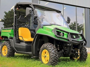 The city accepted a proposal for the purchase of a Gator vehicle for use at the Jacksonville cemeteries.
