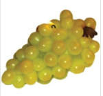 Green Grapes Bunch Candle: $13.50