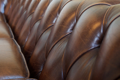 Leather is a classy furniture option, but one that must be taken care of.