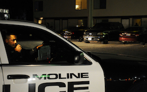 The Moline board of fire and police commissioners plans to hold a special meeting on Monday.