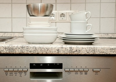 Kitchen counters can easily get cluttered if storage space isn't used efficiently.