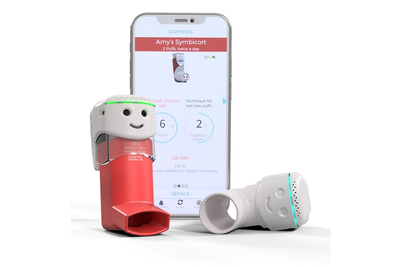 CapMedic's friendly design makes it fun to use inhalers properly, measure lung health and track trends on smartphone.