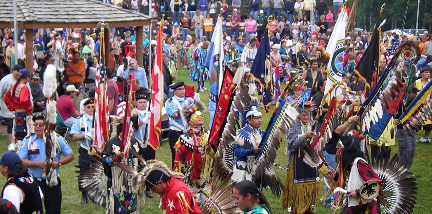 Native American Pow-wows have been targeted by federal agents seeking to limit the illegal possession of feathers.