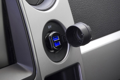 SCOSCHE offers a no-nonsense, simple USB car charger for very little cash.