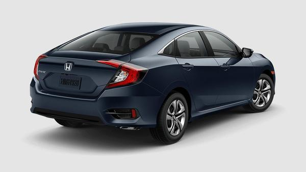2018 Honda Civic brings practical and stylish together.