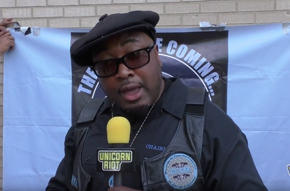 Fred Hampton, Jr. is asking for donations to help him stave off foreclosure at his father's boyhood home in Maywood.