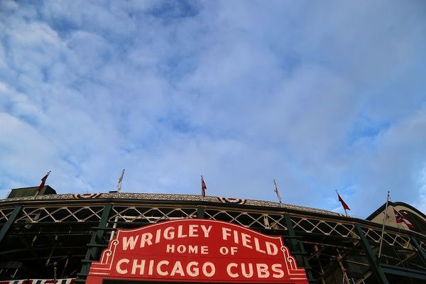 Large the famed wrigley field marquee. (29988370643)
