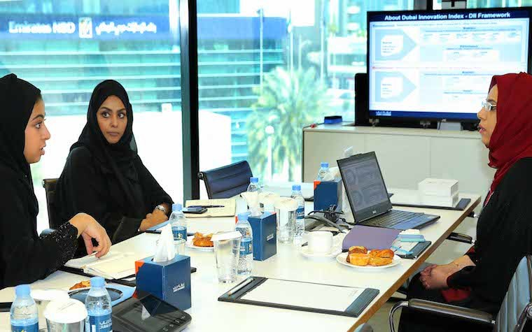 Dubai Chamber of Commerce and Industry and Abu Dhabi Fund