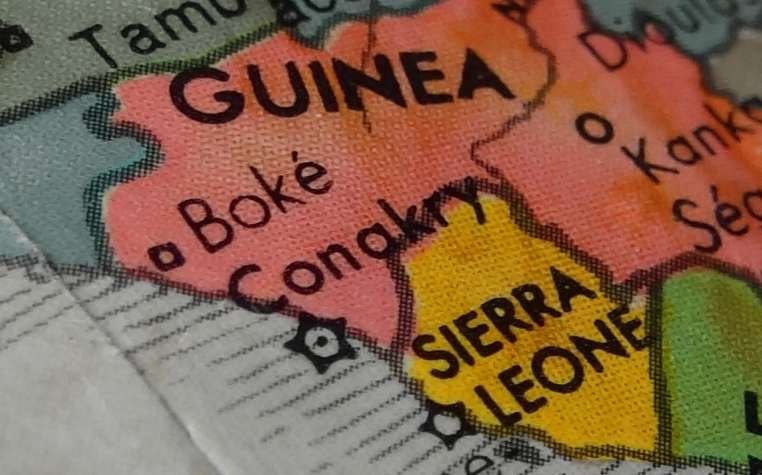 An Ebola breakout in Sierra Leone has forced Guinea to start border health screening
