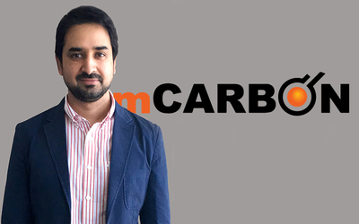 Rajesh Razdan, founder and CEO of mCarbon