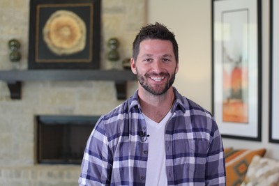 "Austin native Brett Tutor, the new carpenter on TLC's ""Trading Spaces,"" is also starring in five new model home videos at www.SweetwaterLiving.com."