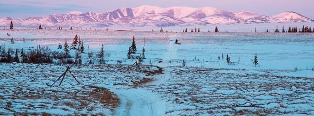 The BLM supports managed land throughout Alaska's northern half.