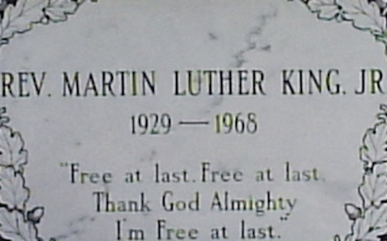 The event was promoted as a way to remember Martin Luther King Jr. and learn more about the man who fought for the freedom of others.