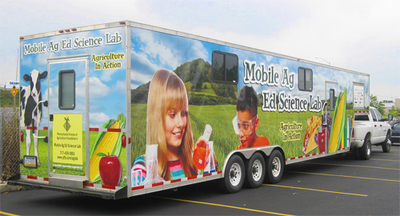 More than 100,000 students have participated in experiments in the Mobile Agriculture Education Science Lab.
