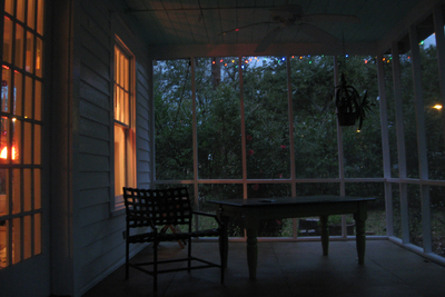 Screened porches have long been a way to enjoy the evenings while mitigating the interference of mosquitos.