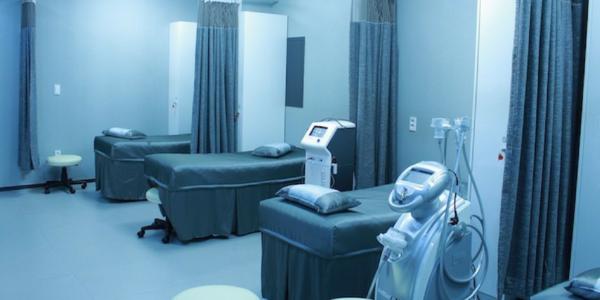 Large hospital