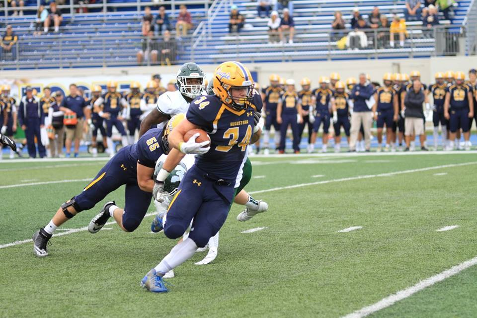 Augustana College's Ryan Pitra has been one of the key players for the Vikings this year.