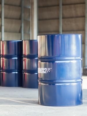 Large fuel barrel