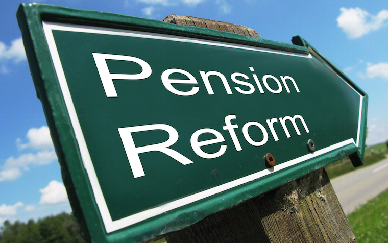 The retiree has every right to collect his pension and find another job, according to the Pension Integrity Project.