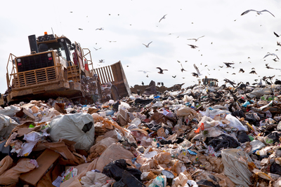 Many times, items end up in landfills when they should not.