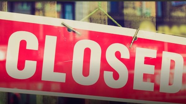 Large closed