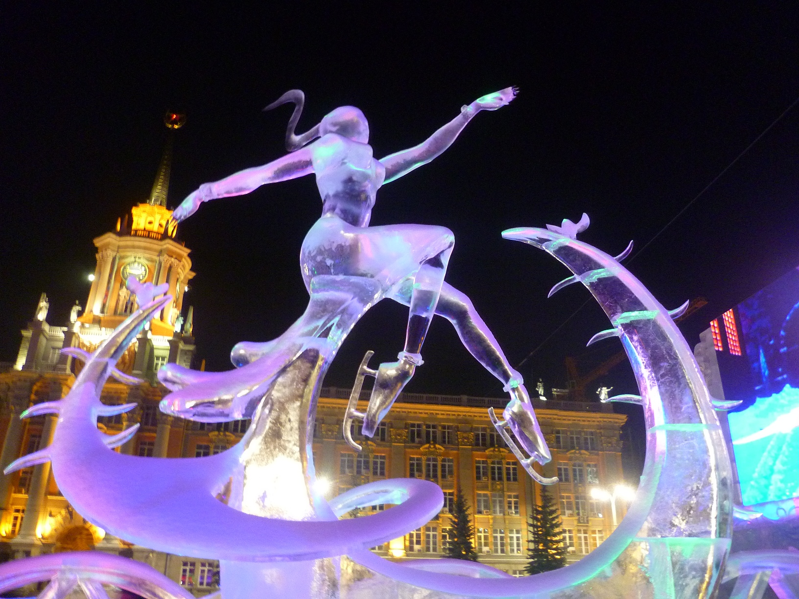 Yekaterinburg ice town has over 380,000 visitors