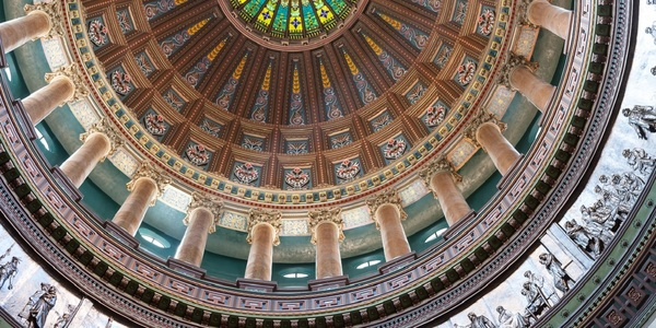 Large springfield capitol dome