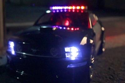 Medium police car
