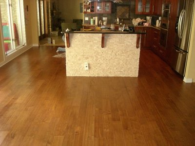 Hardwood flooring can add resale value to a home.