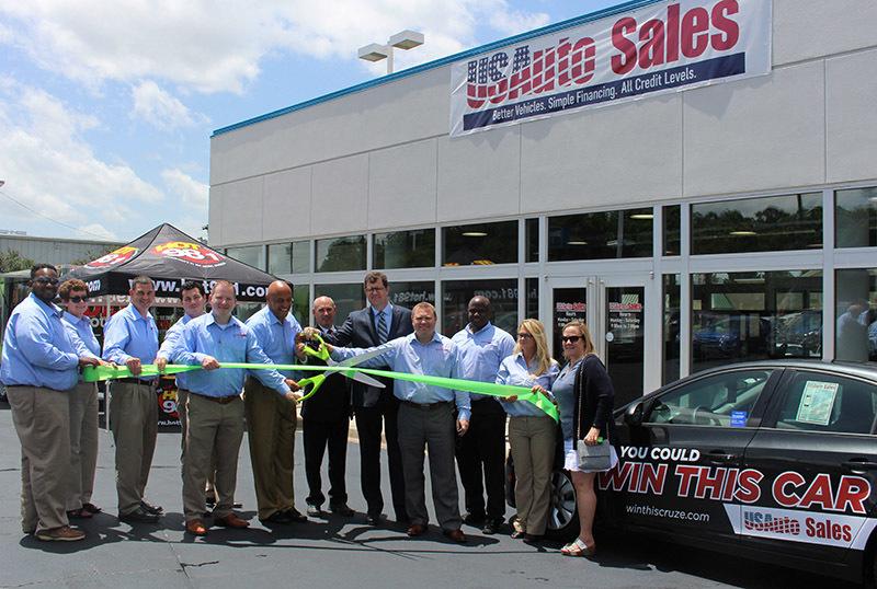 Us auto sales opens new location in greenville palmetto for Motor mile greenville sc