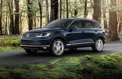 Volkswagen's Touareg boasts smarts and strength.