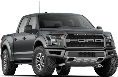 The 2019 Raptor offers a high-output twin-turbo, intercooled DOHC 24-valve, 3.5-Liter EcoBoost engine.