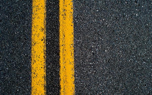 Large asphalt