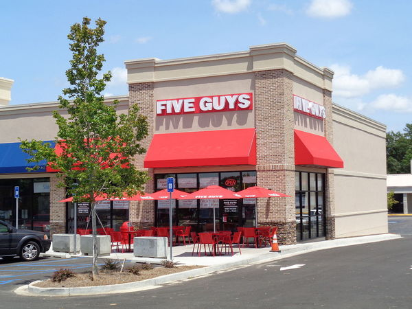 Large five guys