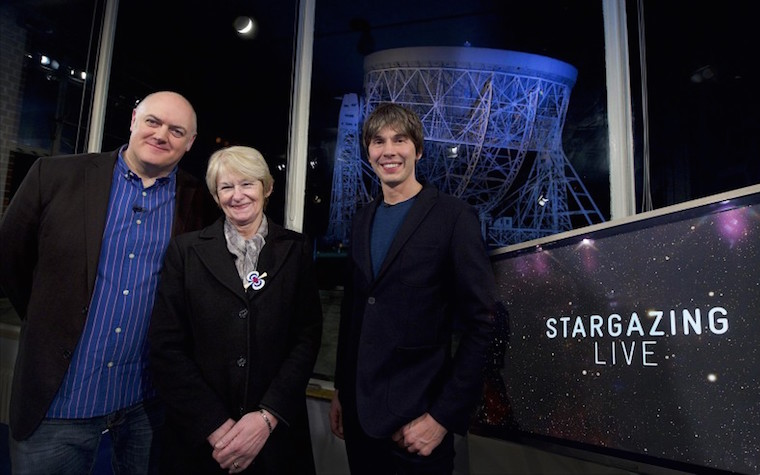 The event took place on the BBC's Stargazing Live program.