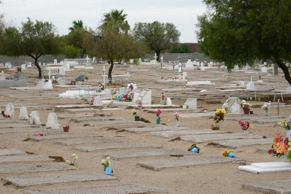 The Goodyear Farms Cemetery opened in 1918.