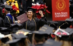 Iowa State University fall commencement boasts record numbers