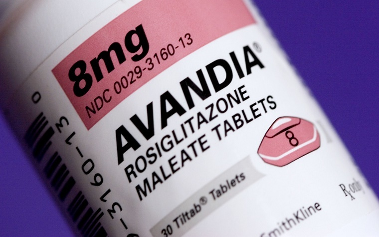FDA lifts warning labels on diabetes drugs containing rosiglitazone.