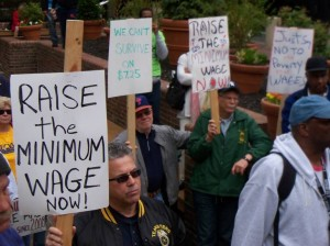 The Raise the Wage PA Coalition includes the Pennsylvania AFL-CIO.