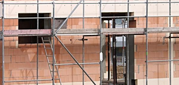 Large constructionscaffold