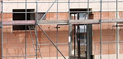 Medium constructionscaffold