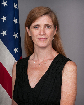 U.S. Ambassador to the UN Samantha Power