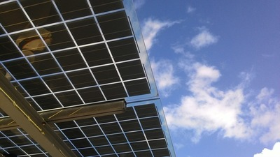 Lake Park High School District 108 expects to save millions of dollars using its solar components.