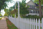 A white picket fence is a timeless classic, but may not be the best choice for everyone.