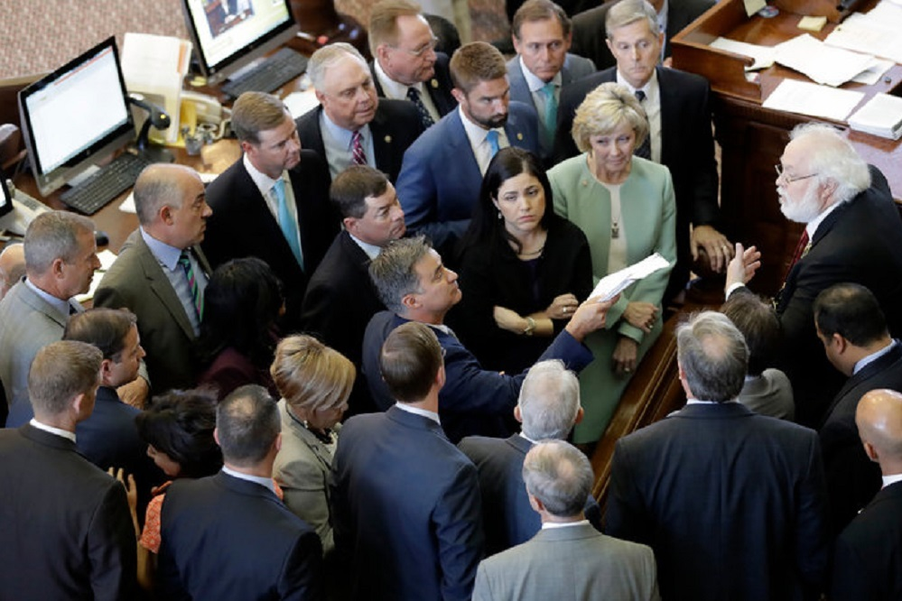 Hopes for property tax reform ended when the Senate adjourned Tuesday night.