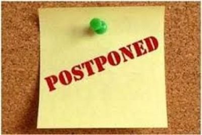 Medium postponed